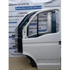 Дверь передняя левая Renault Рено Master / Opel Опель Movano белая, зеленая, серебро