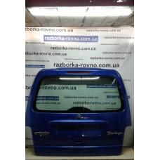 Дверь ляда Peugeot Пежо Partner / Citroen Ситроен Berlingo 1996-2007 под стекло синяя
