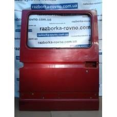 Дверь раздвижная правая Renault  Рено Master / Opel Опель Movano 1998-2010 под стекло красная