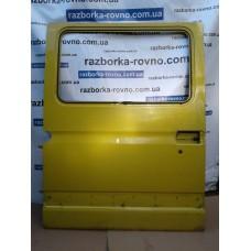 Дверь раздвижная правая Renault Рено Master / Opel Опель Movano 1998-2010 под стекло желтая