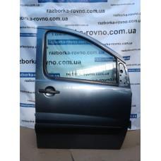 Дверь передняя правая Fiat Фиат Scudo / Peugeot Пежо Expert / Citroen Ситроен Jumpy 2007-2014 мокрый асфальт, красная