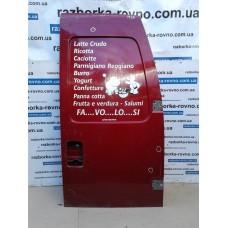 Дверь задняя распашная правая глухая Fiat Фиат Scudo / Peugeot Пежо Expert / Citroen Ситроен Jumpy 1996-2002 красная, синяя