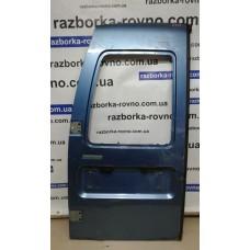Дверь задняя распашная левая под стекло Fiat Scudo / Peugeot Expert / Citroen Jumpy  1996-2002 синяя, белая