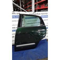 Дверь задняя левая Fiat Фиат 500L 2012-2018 темно-зеленая