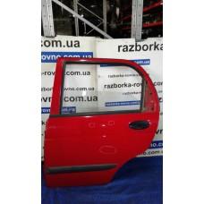 Дверь задняя левая Daewoo Део Matiz 1998-2011 красная, серая