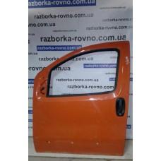 Дверь передняя левая Citroen Ситроен Nemo / Peugeot Пежо Bipper / Fiat Фиат Fiorino 2008-2014 оранжевая