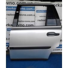Дверь задняя левая Volvo Вольво XC90 2006 серая