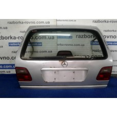 Дверь ляда (универсал) Mercedes Мерседес W210 1995-2002 серая
