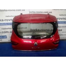 Дверь ляда Renault Рено Clio-4 2012 красная