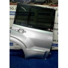 Дверь задняя правая  Mitsubishi Pajero Wagon 3 1999-2006 серая Мицубиси