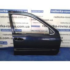 Дверь передняя правая Nissan Ниссан Maxima 2000-2004 А33 темно-синяя