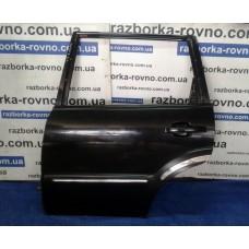 Дверь задняя левая SsangYong СангЙонг Rexton 2001-2006 черная