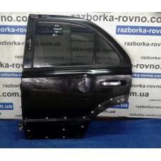Дверь задняя левая Kia Киа Sorento 2002-2009 черная