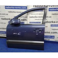 Дверь задняя левая Kia Киа  Sorento 2002-2009 темно-синяя