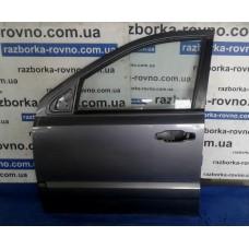 Дверь передняя левая Kia Киа Sorento 2002-2009 темно-серая