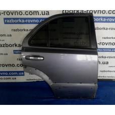 Дверь задняя левая Kia Киа Sorento 2002-2009 темно-серая