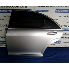Дверь задняя левая Mercedes  Мерседес W221 Long серая