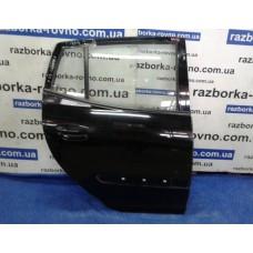 Дверь задняя правая Kia Picanto 2000-2006 черная Киа