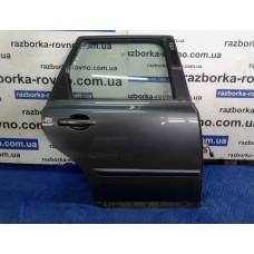 Дверь задняя правая Volvo Вольво V50 2004-2012 темно-синяя