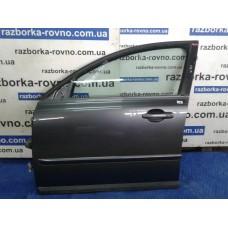 Дверь передняя левая Volvo Вольво V50 2004-2012 темно-серая
