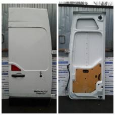 Дверь распашная правая Renault Рено Master / Opel Опель Movano  2010-2017 глухая высокая белая