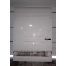 Дверь раздвижная правая Volkswagen Фольксваген Crafter, Sprinter W906 2006+ белая (есть два залома) высота - 2.20 см