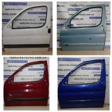 Дверь передняя левая Peugeot Пежо Partner / Citroen Ситроен Berlingo 1996-2007 белая, красная, синяя, голубая
