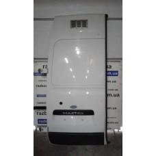 Дверь задняя распашная левая Renault Рено Master / Opel Опель Movano  10-17 глухая высокая белая