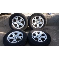 Диск колесный, диски БМВ BMW R17 5x120 (титаны, комплект)
