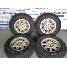 Диски колесные Jeep Wrangler Rubikon 2012-2016 R17 5x127 комплект титановые диски с резиной Джип Вранглер Рубикон