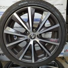 Диск Alfa RomeoR18 7.5Jx18H2 5x110 ET41 комплект титановых дисков