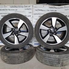 Диск Nissan R18 18x7J 5x114.3 ET40 комплект титановых дисков