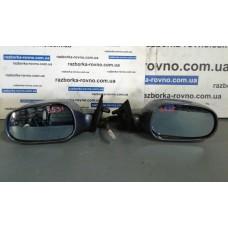Зеркало левое Lancia Лянча Lybra SW 1.9 JTD 1999-2005 синее