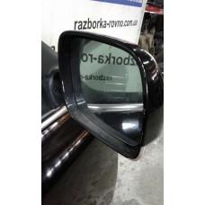 Зеркало правое Volkswagen Фольксваген Touareg 5.0 V10 TDI AYH 2003 черное с повторителем поворота