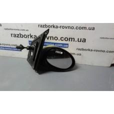Зеркало правое Citroen Ситроен C1 2006 черное механическое