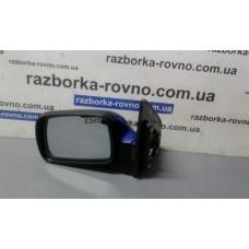 Зеркало левое Kia Киа Picanto 2004 3 pin синее