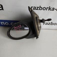 Зеркало левое Citroen C-1 2005-2014 механическое Ситроен