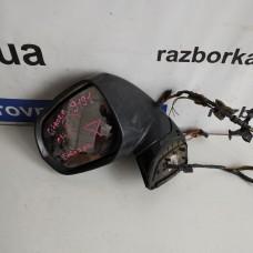Зеркало левое Citroen C4 Picasso 2006-2013 5+6+3pin с повторителем поворотов Ситроен