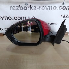 Зеркало левое Alfa Romeo Stelvio 2017-2020 6+6pin с повторителем поворотов