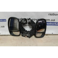 Зеркало левое Renault Рено Trafic 2000-2014 черное
