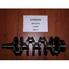 Коленвал Citroen Ситроен C3 1,4HDI 2002→ 8HZ(DV4)