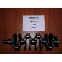 Коленвал Citroen Ситроен Berlingo 1,6HDI 2006→ 9HW(DV6)