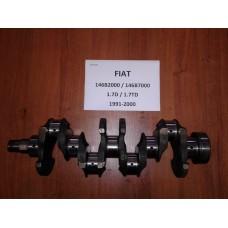 Коленвал Fiat Фиат Fiorino 1,7D / 1,7TD  1991-2000 146B2000 / 146B7000