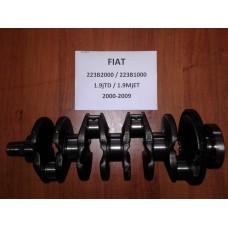 Коленвал Fiat Doblo 1.9jTD, MjET 2000-2009 223B2000, 223B1000