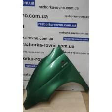 Крыло Daewoo Део Matiz (польская сборка) 1998-2011 левое зеленое