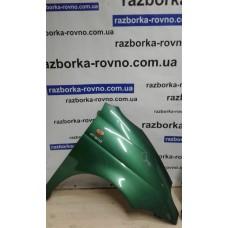 Крыло Daewoo Део Matiz (польская сборка) 1998-2011 правое зеленое