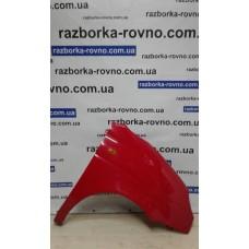 Крыло Daewoo Део Matiz 1998-2011 правое красное