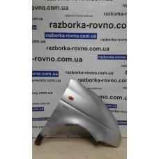 Крыло Daewoo Део Matiz 1998-2011 правое серое (сбоку смола)