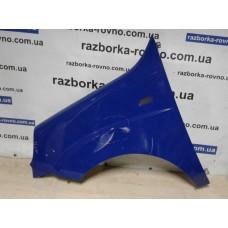Крыло Fiat Фиат Doblo 2 2006-2010 левое синее