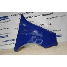 Крыло Fiat Фиат Doblo 2 2006-2010 правое синее